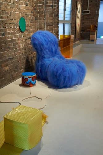 29 Blue Chair in 'Domesticated'