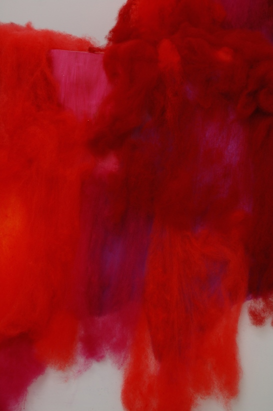 Red mountain detail