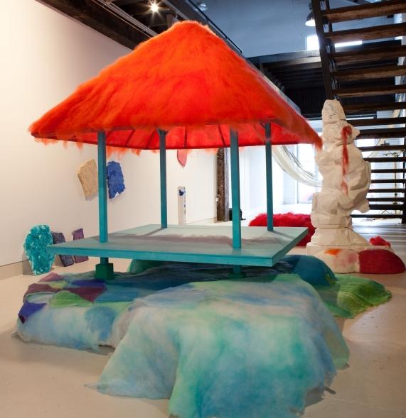 Paradise pavilion in Sculpture garden